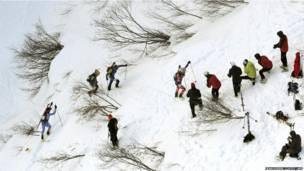 पिएरा मेंटा स्कींग प्रतियोगिता