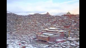 Lalung Gal Gompa, Tibete oriental