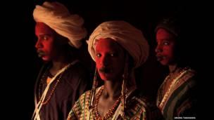 Homem da tribo Wodaabe, Níger. © Uruma Takezawa