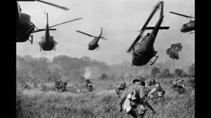 бой при поддержке вертолетов