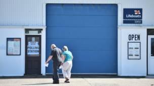 救生艇中心投票站