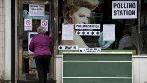 美容中心投票站