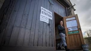穀倉投票站