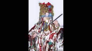 Актеры рождественской сценки в Оттерборне, Хэмпшир. Джеймс О Дженкинс