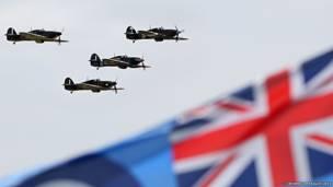 Памятная акция в честь годовщины битвы за Британию