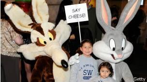 Bugs Bunny y Coyote