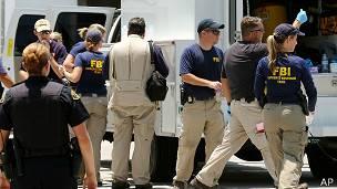 FBI en una operación