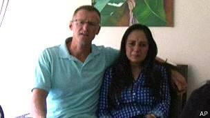 Richard Cushworth y su esposa Mercedes Casanellas
