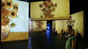 वैन गॉग  प्रदर्शनी, बीजिंग