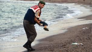 Mwili wa Alan Kurdi
