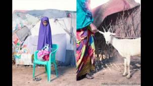 Aasha mai shekara biyar daga kauyen Bodale a yankin Maroodi Jeex na kasar Somaliland.