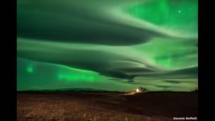 """""""Северное сияние"""", Исландия.Фото: Даниель Боффелли."""