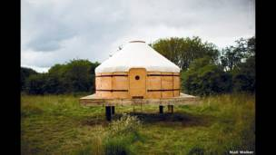 Yurt in Dumfries and Galloway, Scotland, UK. Niall Walker
