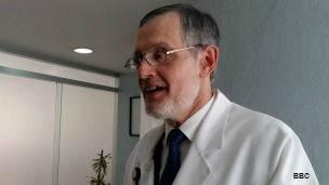Fernando Ochoa Bernal, director del Hospital Nacional Homeopático de México