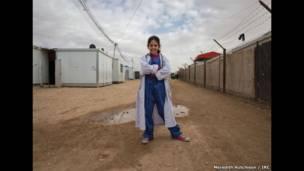 الصورة التقطتها عدسة ميريديث هاتشينسن، من منظمة الإنقاذ الدولية