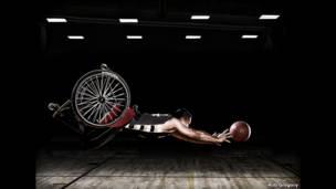 Баскетболист-колясочник