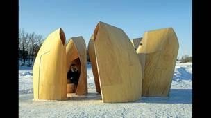 """""""Приют конькобежцев"""", Patkau Architects, Канада, 2011"""