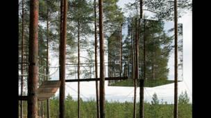 """Зеркальный дом"", Tham and Videgard Arkitekter, Швеция"