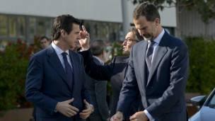 Soria y el Rey Felipe