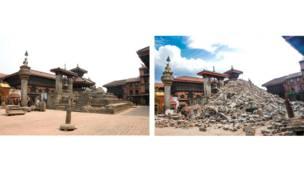 معبد باتسهالا بهاكتابور، ساحة دوربار