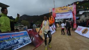नेपाली सेनाका बेदबहादुर सुनुवार।