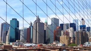Нью-Йорк, фото, хмарочоси