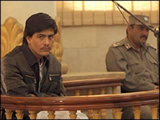 پرویز کامبخش در دادگاه