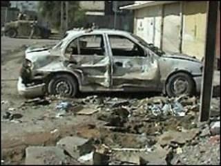 بمبگذاری در بخش کراده
