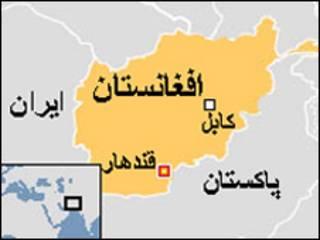 نقشه قندهار