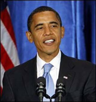 باراک اوباما در کنفرانس خبری روز 7 نوامبر