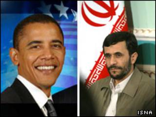 احمدی نژاد و اوباما