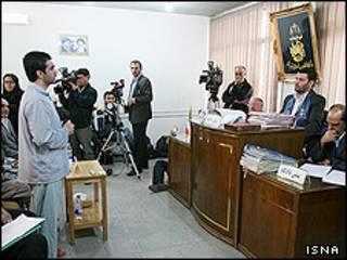 دادگاه متهمان انفجار شیراز