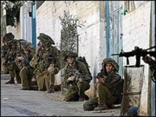 سربازان اسرائیلی در جنین