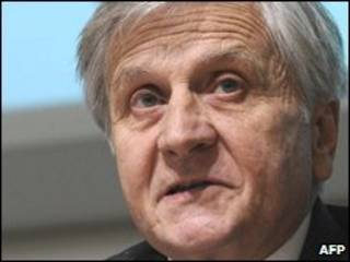 Jean-Claude Trichet, presidente do BC Europeu