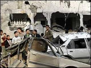 خرابی های غزه