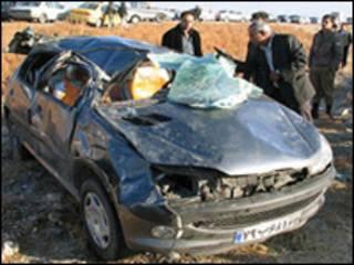 تصادف در ایران