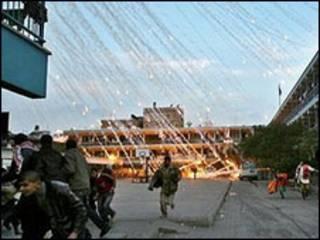 Explosão em Gaza