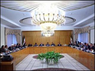 جلسه هیات  دولت - عکس آرشیوی از فارس