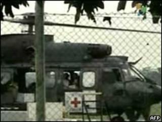 Helicóptero brasileiro usado no resgate de reféns na Colômbia