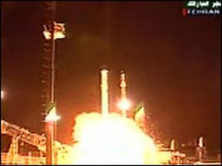 Lançamento do satélite