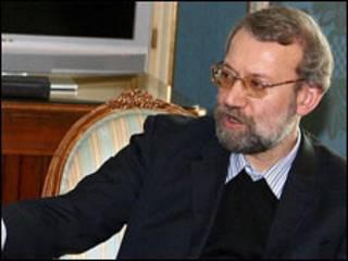 علی لاریجانی در اسپانیا