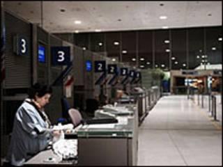 فرودگاهی در شمال پاریس
