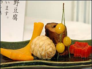 Legumes decorados