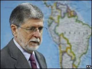 O ministro das Relações Exteriores do Brasil, Celso Amorim (arquivo/AP)