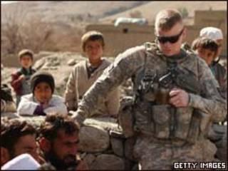 Soldado americano no Afeganistão (Getty Images)