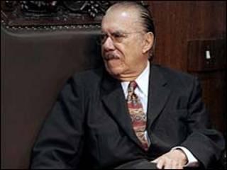 O senador José Sarney (Foto: Fábio Rodrigues Pozzebom/ABr)