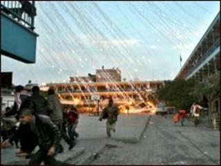 Ofensiva israelense na Faixa de Gaza (arquivo)
