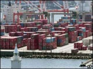Porto de Yokohama, no Japão (arquivo/AP)