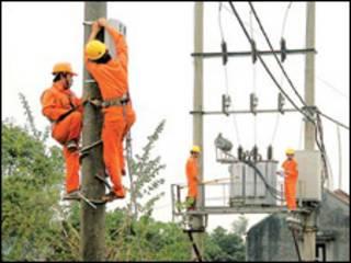 Công nhân ngành điện