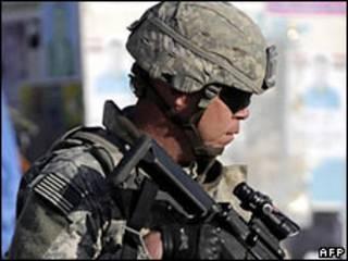 Lính Mỹ tại Iraq (ảnh chỉ có tính chất minh họa)